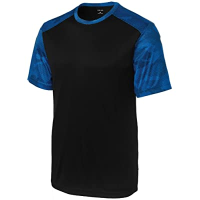 Joe's USA Youth CamoHex Athletic Shirts in Youth Sizes: XS-XL