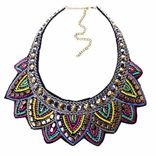 طلا و جواهر قبیله QIYUN.Z قبیله ای دستی مثلثی هندسی برجسته و جذاب