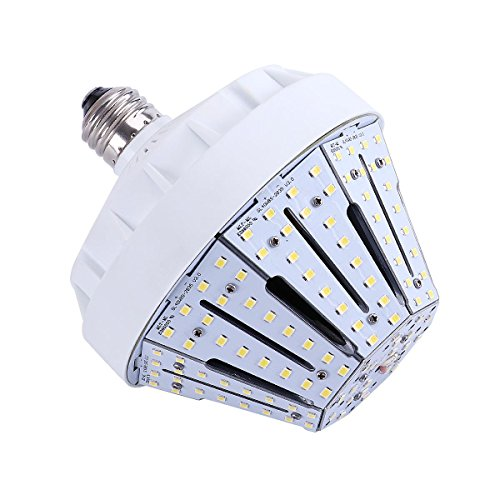 30W LED Corn Light 6000K Daylight White Bulb, E26 Socket 4800Lm Replacement for Fixtures HID/HPS for Indoor Outdoor Large Area Home Warehouse Street Lamp, UL Listed and DLC - State Hours Garden Mall