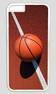 Basketball On Line DIY Hard Shell Transparent iphone 6 Case Perfect By Custom Service