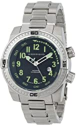 ANDROID Men's AD659BK Frontline Analog Japanese-Automatic Grey Watch