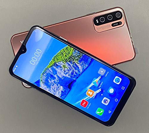 (6.53inch IPS Full-Screen), Y33 Unlocked Phones, 3GWCDMA: 850/2100/MHZ SIM Card Band, 1GB RAM 16GB ROM, Unlocked Cell Phones, 2MP+5MP, 2800mAh, Android Smartphone (red)