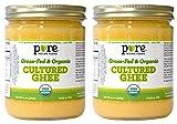 Grassfed Organic Cultured Ghee 14 oz (2-Pack)