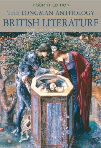 The Longman Anthology of British Literature. (Longman,2009) [Paperback] 4th Edition