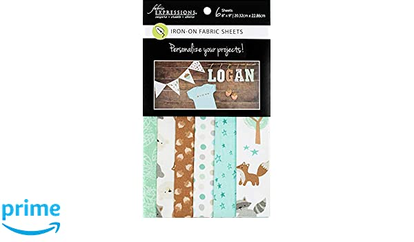 Fabric Expressions Fusible Sheets 8X9 6//Pkg-Woodland Nights