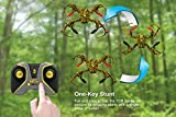 Tenergy-TDR-RC-Drone-Spider-Quadcopter-Drone-One-Key-Auto-Return-3D-360-Roll-Stunt-Headless-Mode-Drone-24-GHz-6-Axis-Flight-Control-Beginner-Drone