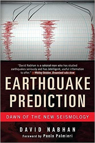 Amazon com: Earthquake Prediction: Dawn of the New