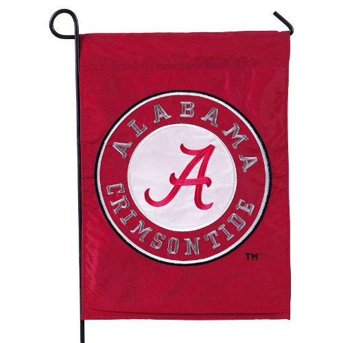 Team Sports America Alabama Crimson Tide Garden Flag