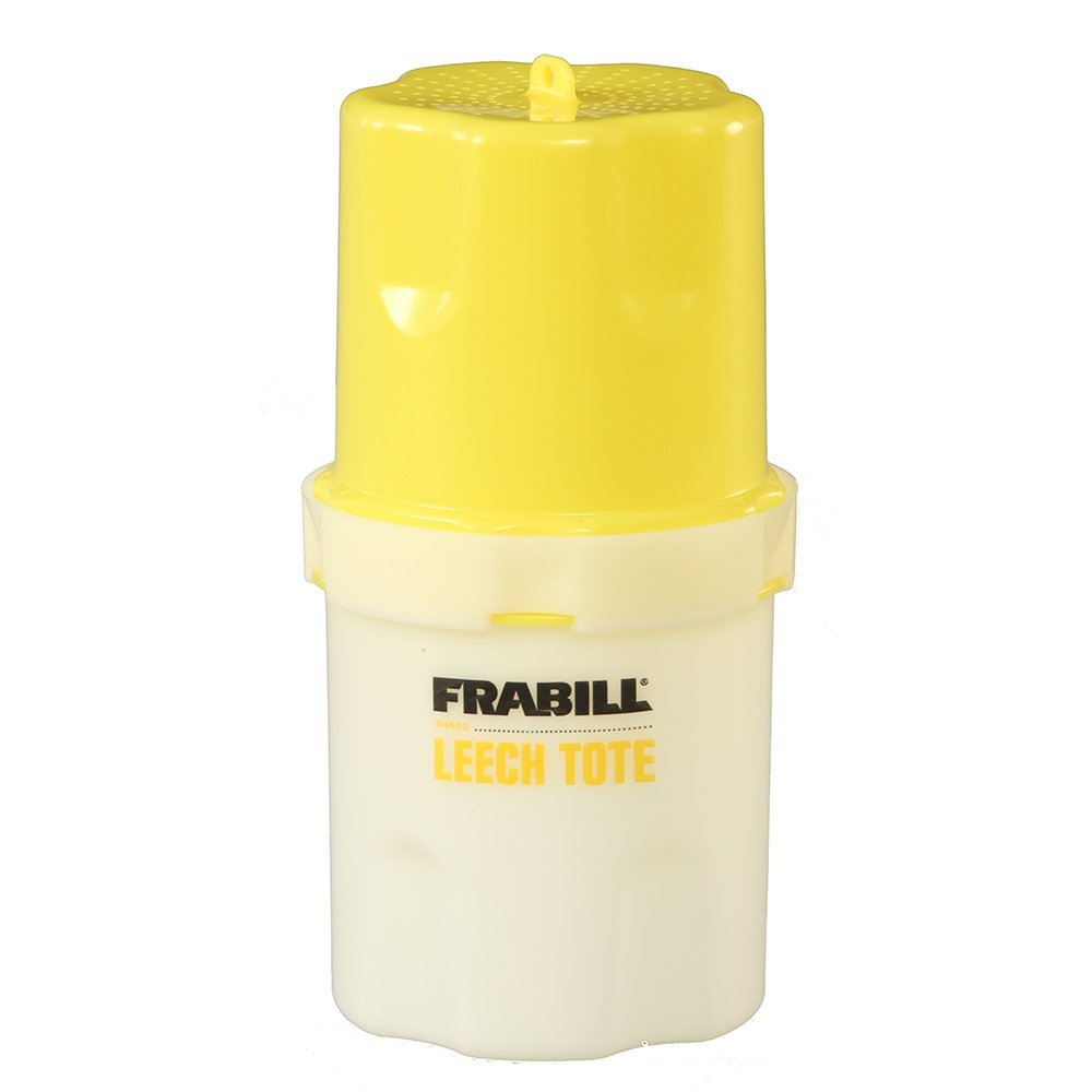 Frabill Leech Tote Bait Storage Container, 1-Quart