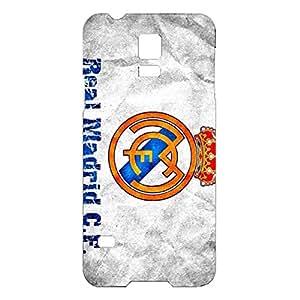 Real Madrid CF Vintage Logo Unqiue Plastic Phone Case for Samsung Galaxy S5 Mini
