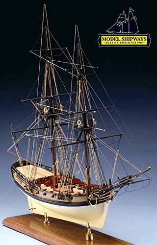 Model Shipways 1778 Fair American 14-Gun privateer Historic Set Kit Wood Boat NEW 1:48 Model-Expo -