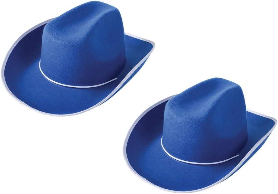 Cowboy HAT//Blue 2 PK USTOYS Bundle Savers
