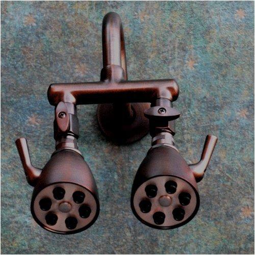 Giessdorf Dual Swordfish Shower Head, Oil Rubbed Bronze - Fixed ...