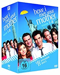 How I Met Your Mother - Season 1-8 Komplettbox