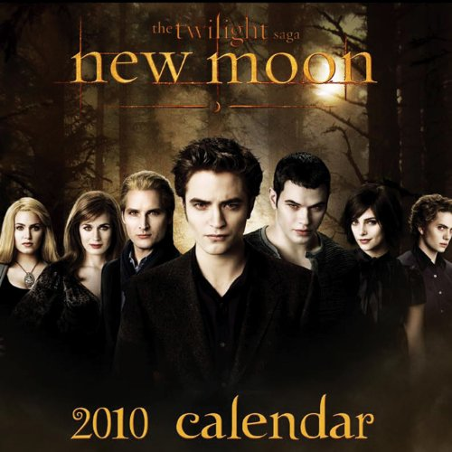 Twilight New Moon Calendar 2010 - Officially Licensed