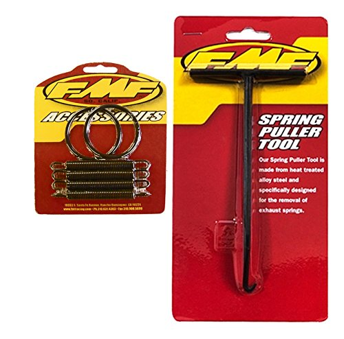 Exhaust O-ring - FMF Exhaust Spring Puller & Pipe Springs/O-Rings Kit - Yamaha YFZ350 Banshee _011319 011231