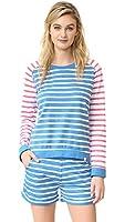 Honeydew Intimates Women's Undrest Stripe Sweatshirt