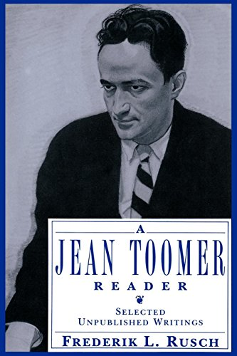 Books : A Jean Toomer Reader: Selected Unpublished Writings