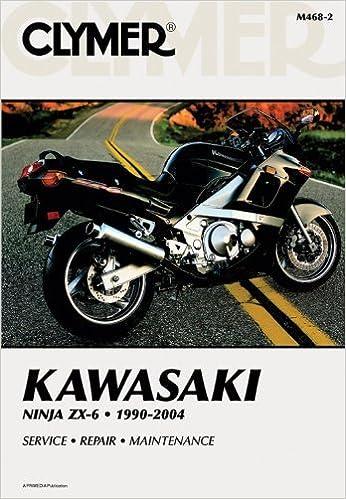 Kawasaki Ninja ZX-6 1990-2004 Clymer Motorcycle Repair by ...