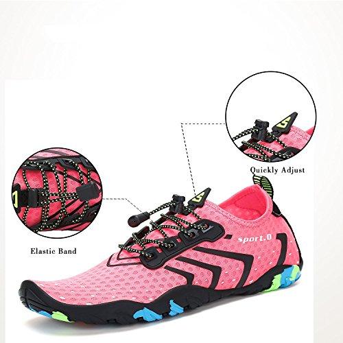 Zapatos de Putu Unisex Playa Adultos Rosa Tf6dqw