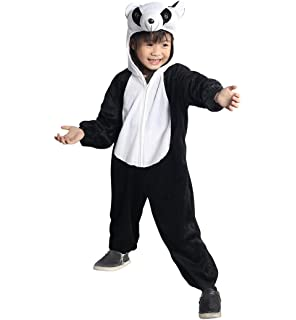 Panda Kostüm Kinder Pandabär Pandakostüm Kinderkostüm Gr 92 98 Fasching Karneval