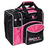 Moxy Bowling Products Single Deluxe Bowling Bag (Pink)