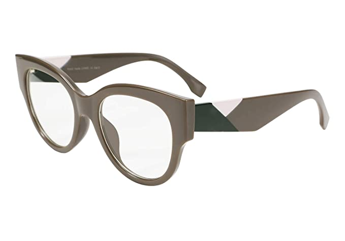 c51becb9e0c0 Image Unavailable. Image not available for. Color: FEISEDY Unisex Stylish Cat  Eye Square Eyeglasses Frame ...