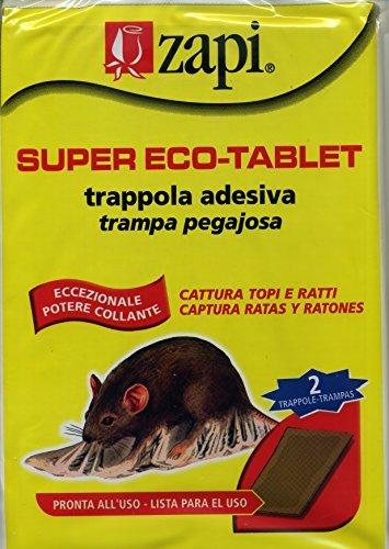 10 opinioni per ZAPI COLLA TOPI TAVOLETTE SUPER ECO TABLET Pz.2 ZAPI