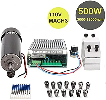 CNC Spindle Kit 500W Air Cooled 0 5kw Milling Motor +