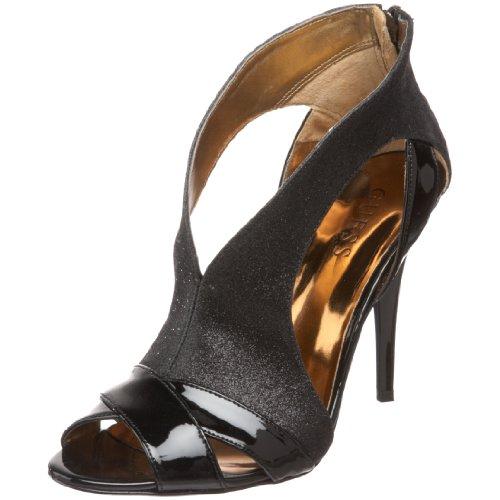 GUESS Women's Onella3 Ankle-Strap Sandal,Black,8.5 M US (Sandals Ankle Guess Strap)