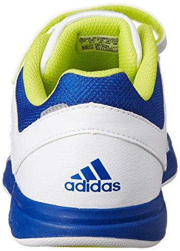 adidas LK Trainer 6 CF K - Zapatillas para niño Negro / Blanco / Gris