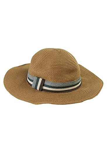 210c932d9c7db3 Image Unavailable. Image not available for. Color: August Hat Co. Women's Floppy  Straw ...