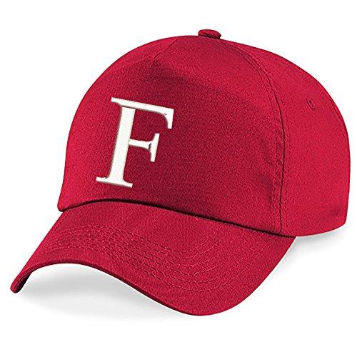 Bordado A Hat Alphabet Gorra Niños 4sold Escuela Rojo Niños F Z qXEf0w