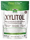 NOW Natural Foods, Xylitol, Pure with No Added Ingredients, Keto-Friendly, Low Glycemic Impact, Low Calorie, 2.5-Pound (Packaging May Vary)