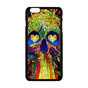 Sugar Skull Case Cover for Personalized Case for Personalized iphone 6 (Laser Technology) Screen iPhone Strong Protect Case-04