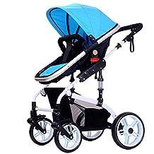 Qianle Baby Connet Travel System Convenient Stroller,Color Blue