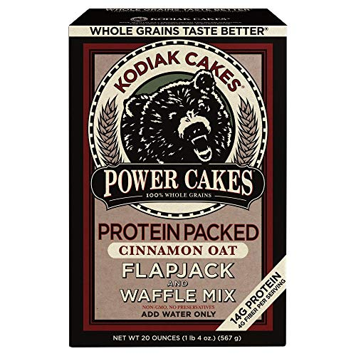 Power Cakes Cinnamon Oat Flapjack & Waffle Mix (Pack of 16) by Generic (Image #1)