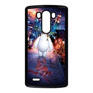 LG G3 Cell Phone Case Black Big Hero 6 Movie Poster LSO7703028