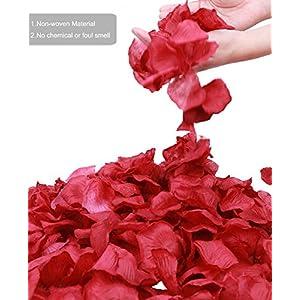 Jasmine 1000 PCS Non-Woven Rose Petals Valentine Wedding Party Flower Decoration 2