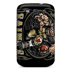 New New Orleans Saints Cases Covers, Anti-scratch Luoxunmobile333 Phone Cases For Galaxy S3