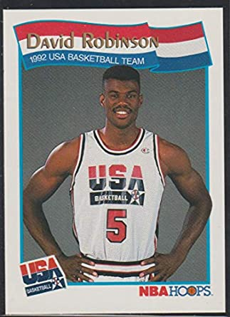 Amazoncom 1991 Hoops David Robinson Usa Basketball Team