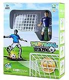 Just us Soccer Shooting Coin Bank Football Palyer