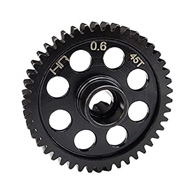 Hot Racing SDMD45M06 Steel Spur Gear 45t Bx/Mt/Sc4.18 .6 Module: Toys & Games