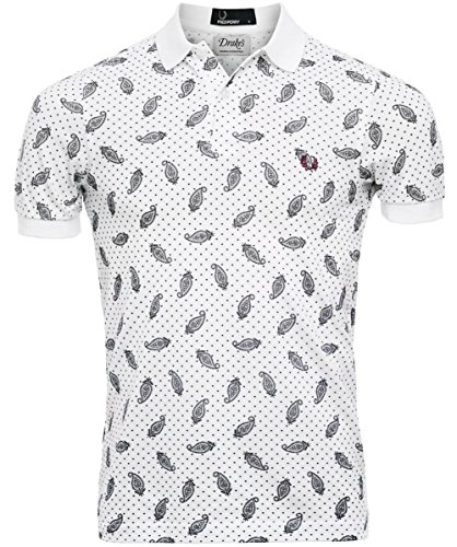 Fred Perry Drake's Paisley Polo Shirt
