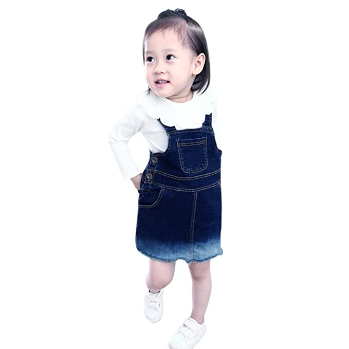 Dinglong Pijamas enteros - Moda - Manga Larga - para bebé niña blanco