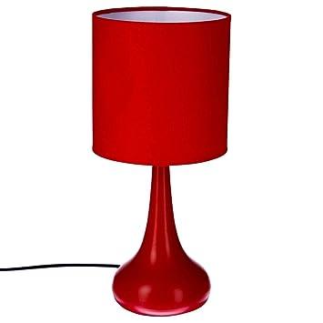 Lampe De Chevet Tactile Rouge Amazon Fr Cuisine Maison