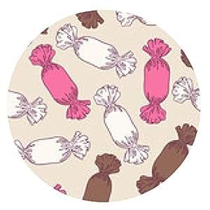 alfombrilla de ratón caramelos bosquejar sin patrón - ronda - 20cm