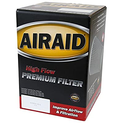 Airaid 700-458 Universal Clamp-On Air Filter: Round Tapered; 4 Inch (102 mm) Flange ID; 7 Inch (178 mm) Height; 7 Inch (178 mm) Base; 4.625 Inch (117 mm) Top: Automotive