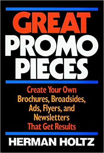 great promo pieces create your own brochures broadsides ads