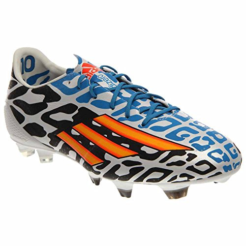 adidas F50 Adizero-Messi Battle Pack TRX FG Soccer Cleats Shoe - Core White/Solar Gold/Black - Mens - - Messi Cleats F50
